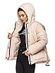 """Теплая женская зимняя куртка с поясом на пряжке """"Дорети"""", фото 10"""