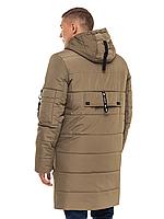 """Зимняя удлиненная мужская куртка больших размеров """"Игнат"""""""