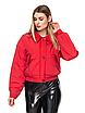 """Короткая демисезонная женская куртка с отложным воротником """"Любава"""", фото 3"""