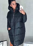 Модная демисезонное женское пальто