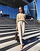 Свободный вязаный женский свитер, размер универсальный 42-48, расцветки разные, фото 6