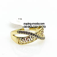Кольцо Versache. Бижутерия ксюпинг 18