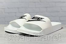 Шлепанцы мужские 17341, Nike, белые, < 42 44 45 > р. 42-26,7см., фото 2