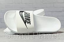 Шлепанцы мужские 17341, Nike, белые, < 42 44 45 > р. 42-26,7см., фото 3