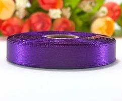 Лента атласная LiaM цвет Теплый фиолетовый 1,2 см ширина