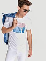 Белая мужская футболка LC Waikiki / ЛС Вайкики Unaccountable Theory, фото 1