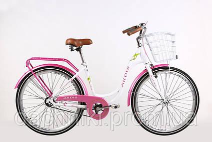"""Велосипед Ardis Berta 28"""" Белый/Розовый (0931), фото 2"""