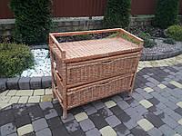 Плетеный комод из лозы