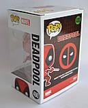 Колекційна фігурка Funko Pop! Marvel: Deadpool with candy, фото 5