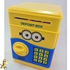 [ОПТ] Дитячий сейф-скарбничка зі звуком і кодовим замком, фото 3