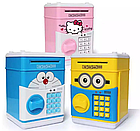 [ОПТ] Дитячий сейф-скарбничка зі звуком і кодовим замком, фото 4