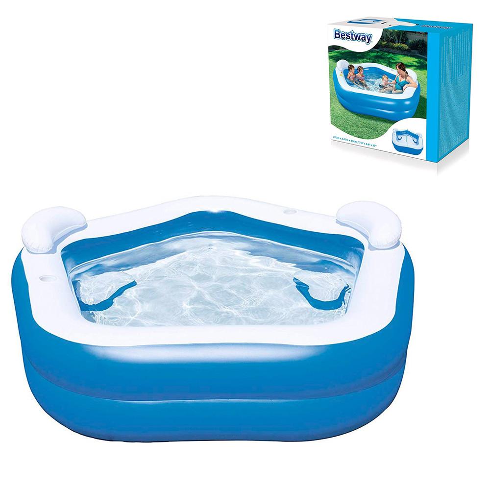 Детский надувной бассейн Геометрия Bestway 54153