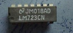 Микросхема LM723 LM723CN DIP14, фото 2