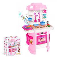 Детский игровой набор «Кухня» со световыми и звуковыми эффектами, Технок (6696)