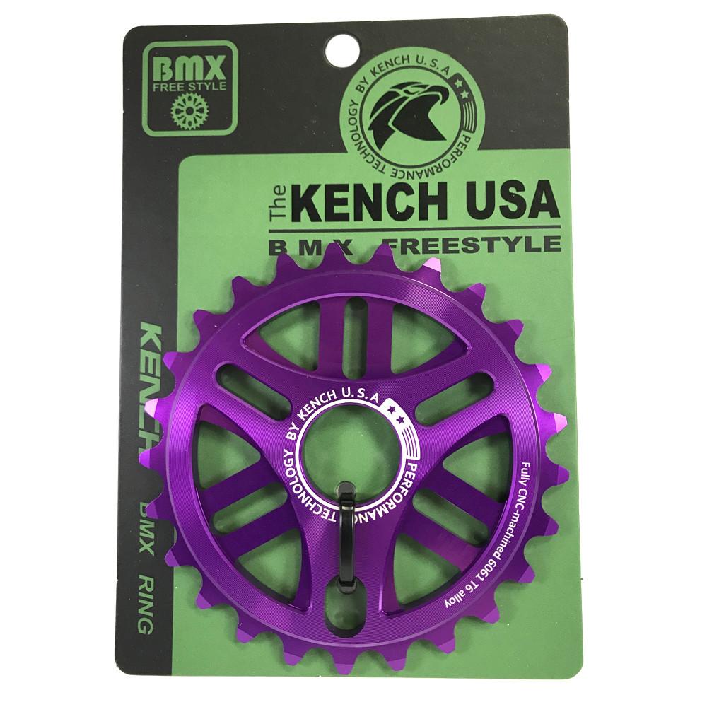 Зірка BMX Kench KH-RN-02 25Т фіолетова анодована