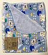 Плед детский 95*80см королевский флис, микрофибра софт, одеяло мягкое, одеяло теплое, плед дитячий, покривало, фото 2