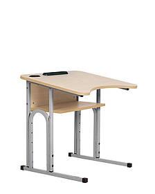 Стол ученический E-163/1 (16R) PK Grey (Новый стиль ТМ)