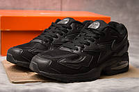 Кроссовки мужские 15232, Nike Air Max, черные, < 41 43 44 > р. 41-25,7см.