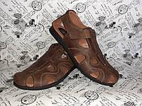 YDG Bellini мужские фирменные летние сандалии босоножки цвет коричневый