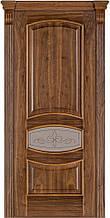 Дверь межкомнатная Terminus Модель 50 Орех американский цвет (застекленная)
