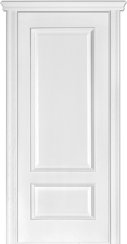 Дверь межкомнатная Terminus Модель 52 Ясень белый Эмаль цвет (глухая)