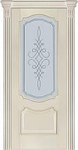 Дверь межкомнатная Terminus Модель 41 Ясень Crema цвет (застекленная)