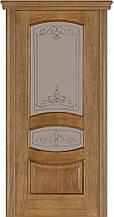 Дверь межкомнатная Terminus Модель 50 Дуб даймонд цвет (застекленная)