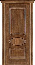 Дверь межкомнатная Terminus Модель 55 Дуб браун цвет (глухая)