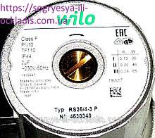 Насос цирк. Wilo RS 15(25)/4 68/30 мм 3х ск. 65 Вт з равликом (б ф.у, EU) Ferroli, Vaillant та ін, к. з. 0244/2