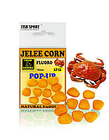 Плавающая желейная кукуруза Fish Sport POP-UP Краб