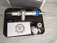 Дермапен Dr. pen Ultima А6 с двумя аккумуляторами, бесплатная доставка+ гиалуронка, 0,25 мм - 3,00 мм