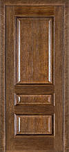 Дверь межкомнатная Terminus Модель 53 Дуб браун цвет (глухая)