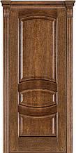 Дверь межкомнатная Terminus Модель 50 Дуб браун цвет (глухая)