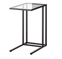 Столик подставка для ноутбука из стали и стекла закаленного, фото 1