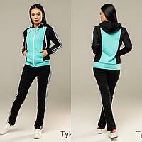 Женский спортивный костюм, костюм для прогулок S/M/L/XL/2XL, фото 1