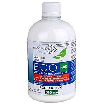 Клей поліуретановий ECOSAR 135 C/1000 водно-дисперсійний з високою термостійкістю, (0,5 літра)