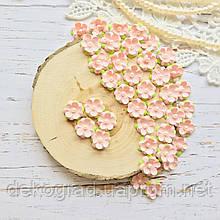 Цветы Незабудки 15мм Нежно-розовые