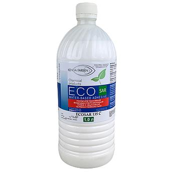 Клей поліуретановий ECOSAR 135 C/1000 водно-дисперсійний з високою термостійкістю, (1 літр)