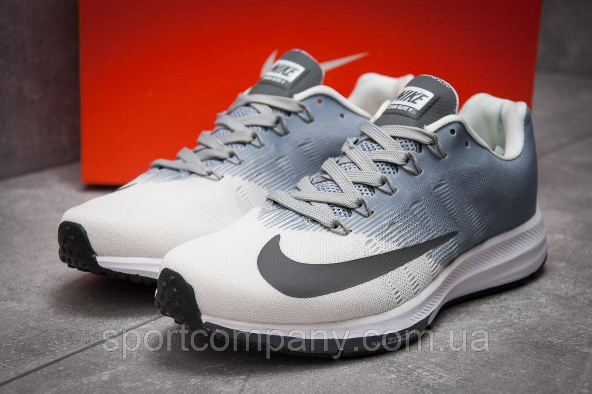 Кроссовки мужские 12894, Nike Zoom Elite 9, серые, [ 45 ] р. 45-29,1см.