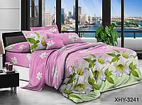 Двуспальное постельное белье поликоттон XHY3241 ТM TAG