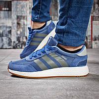 Кроссовки женские 15433, Adidas Iniki, синие, [ 36 38 ] р. 36-22,5см., фото 1