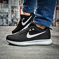 Кроссовки женские 16031, Nike Zoom Pegasus, черные, < 37 38 > р. 37-23,0см.