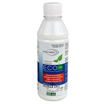 Клей поліуретановий ECOSAR 135 C/1000 водно-дисперсійний з високою термостійкістю, (0,25 літра)