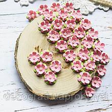 Цветы Незабудки 15мм Розовые