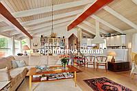 Вагонка деревянная Молочанск сосна, ольха, липа, фото 1