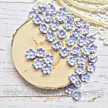 Цветы Незабудки 15мм Сиреневые