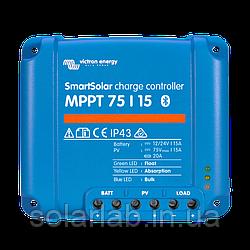 Контроллер заряда SmartSolar MPPT 75/15