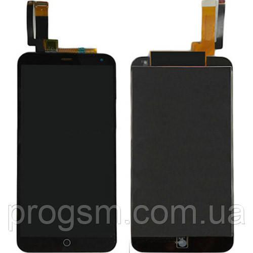 Дисплей Meizu M1 / M1 Mini complete Black