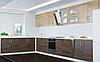Верхняя тумба со стеклом ВВГ14-600 кухня Оптима тм Эверест, фото 5