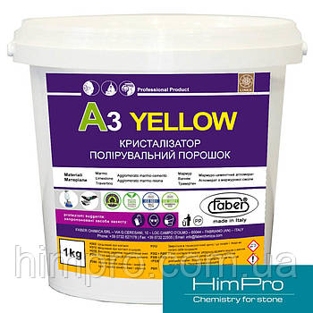A3 YELLOW 1kg Кристаллизатор для мрамора